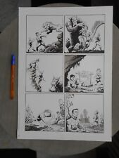 ORIGINAL ART DONALD MARQUEZ EXCELLENT ETAT