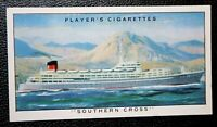 SOUTHERN CROSS    Shaw Savill Line  Harland & Wolff    Vintage Colour Card  VGC