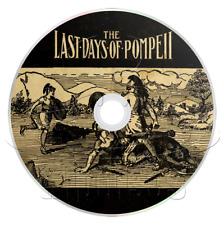 The Last Days of Pompeii (1834) Audiobook (1 x mp3 CD) (Audio Book)