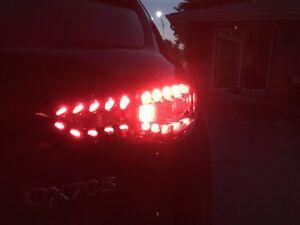 Infiniti QX70 QX FX FX35 FX37 FX50 Taillights LED trunk tail lights 09-18