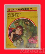 GIALLO MONDADORI 1043 Uomo senza domani DUGALL 1969