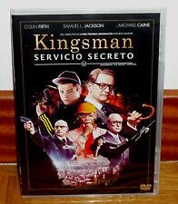 KINGSMAN SERVICIO SECRETO DVD NUEVO PRECINTADO ACCION AVENTURAS (SIN ABRIR) R2