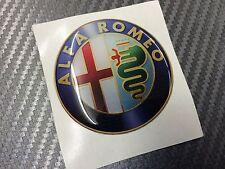 1 Adesivo Stickers ALFA ROMEO Old Color 74 mm 3D resinato auto