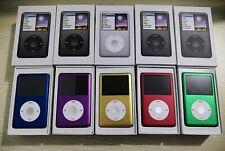 Latest Model Apple iPod Classic 7th Generation 80/120/160GB - 5 Colors