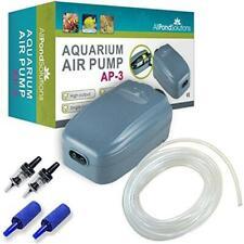 Air Pump Aquarium Filter Tank Tropical Fish Pond Solutions 180 Litre/ Hour