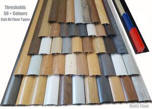 Quality Laminated Multi Purpose Door Threshold Bars 38mmx 90cm Huge Colour Range