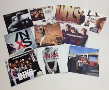 INXS: 10 CD Lot - Shabooh Shoobah/The Swing/Listen Like Thieves/Kick/X/Live/Hits