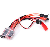 20A Brushed ESC with Reverse & Optional Brake For RC Cars Boats Tanks - orangeRX