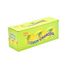 20Rolls Lemon Flavor 35MM Round Hookah Charcoal Quick-lighting Burn Lasting Long