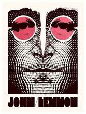 John Lennon  **LARGE POSTER**  60's Psychedelic Art Print the Beatles - MUST SEE