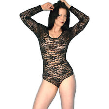 Transparent Lace Teddy Size S Or M Blouse Body Lingerie Negligee Babydoll