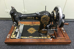 Antique Jones Sewing Machine from 30's England