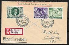 German Reich covers 1943 R-cover Deutsche Dienstpost Niederlande/BREDA