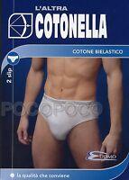 3161 3 Tanga Taille Basse Femme Coton Élastique Cotonella Art