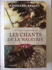 LES CHANTS DE LA WALKYRIE TOME 1 2008 EDOUARD BRASEY MALEDICTION ANNEAU