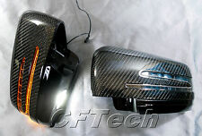 Mercedes Benz W204 C / X204 GLK-Class 10~ON CARBON FIBER Arrow LED Side Mirror