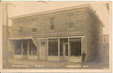 Billaudel Block Philmont New York NY RP Postcard 1912