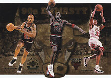 (10) 97 UD Bulls Dynasty Jordan Limited Edition Card