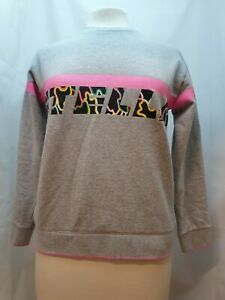Children's Stella McCartney Kids Grey Branded Sweatshirt UK Size 14 Years