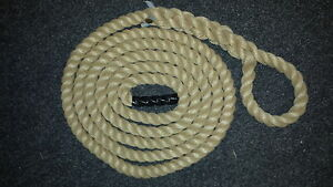 Gym Climbing Ropes Synthetic Hemp Ropes Fitness  With Soft Eye FREE DELIVERY