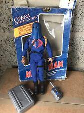 Gi Joe Cobra Commander hombre de acción 1:6 Scale Action Man Salón de la Fama Azul