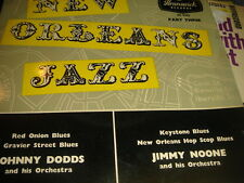 new orleans jazz  johnny dodds and jimmy noone ep brunswck oe9342  vinyl ex++45