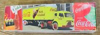 Die Cast Semi Truck Cab and Trailer Bank Coca Cola 1950's Vintage Style NOS