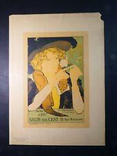 .PL 10 Les Maitres de L'affiche: George De Feure: Le Salon Des Cent 1894, Litho