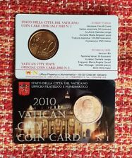 50 Centimos Vaticano 2010 Coin Card