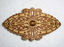 BEAUTIFUL RUSSIAN HANDMADE HAIR BARRETTE~NATURAL BIRCH BARK~ NEW