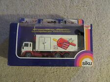 Siku Volvo F7 Refrigerated Lorry Langnese 1:55 Nice W/ Box Made In West Germany
