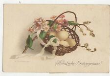 Ostergruesse Easter Greetings Artist L Granner 1926 Postcard US006