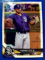 Fernando Tatis Jr RC 2018 Bowman Chrome Prospects Rookie Card # BCP114  Padres