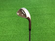 NICE Cleveland Golf CG15 Oil Quench Zip Grooves 56* WEDGE Right Graphite REGULAR