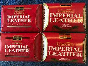 24 X CUSSONS IMPERIAL LEATHER SOAP, LARGE SIZE: 125g each, BULK LOT, INDIVIDUAL