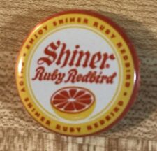 For purchase is Shiner Ruby Redbird Beer Cap.  Overall condition is excellent. P