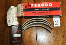 "Vintage Ferodo Brake Linings BAT/28/1 Boxed Set with Rivets. 7"" x 1 1/4"" drums 2"