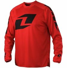 """YOUTH motocross jersey ONE INDUSTRIES ATOM """"ICON"""" EXTRA LARGE red  51143-098-054"""