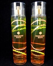 Bath & Body Works Sunkissed Days Fragrance Mist Splash 7.6 Fl Oz Set 2 #21