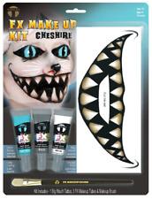 Erwachsene Grinsekatze Gesichtsfarbe Tattoo Transfer Halloween Karneval Make Set