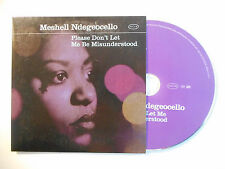 MESHELL NDEGEOCELLO : PLEASE DON'T LET ME BE MISUNDERSTOOD ♦ CD SINGLE ♦