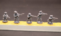 1/72 Resin Modern Russian Soldiers 5 Kit INSS Unassembled Unpainted XH008