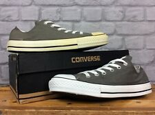 CONVERSE UNISEX ALL STAR LOW GREY CANVAS TRAINERS MENS WOMENS VARIOUS SIZES