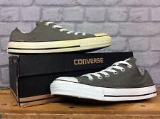 Converse All Star Unisex Gris Baja Lienzo Zapatillas Para Hombre Mujer varias tallas