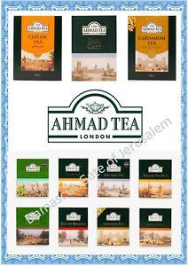 Ahmad Tea Bags OR Loose Leaf Tea - Choose from 10 Varieties  ~~FREE POSTAGE ~~