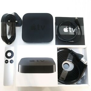 Apple TV 3rd Gen HD Media Stremaer A1427 MD199LL/A *excellent condition* BOXED