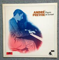 ANDRE PREVIN - Previn At Sunset (1972) Vinyl LP (Polydor) (2460 154) Jazz