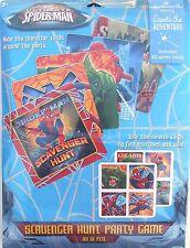 Party Game SPIDER-MAN SCAVENGER HUNT Birthday Supplies Hallmark