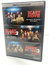 Scary Movie Triple Feature (DVD, 2012, 3-Disc Set)