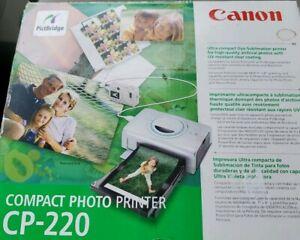Canon Compact Photo Printer CP-220 PictBridge - Ultra compact Dye-Sublimation
